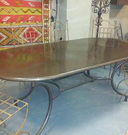 TABLE METAL OBELON 200X100