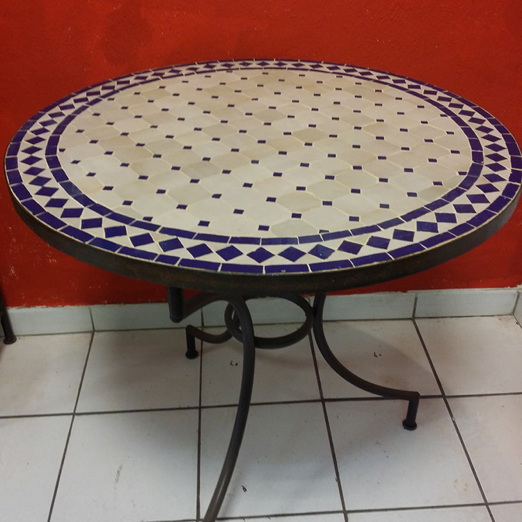 Tables zeliges diam 80 cm