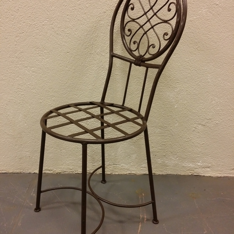 Chaise asia ronde